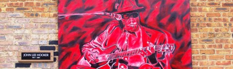 Johnny Lee Hooker mural