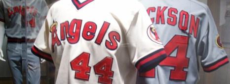 close up of angel jerseys