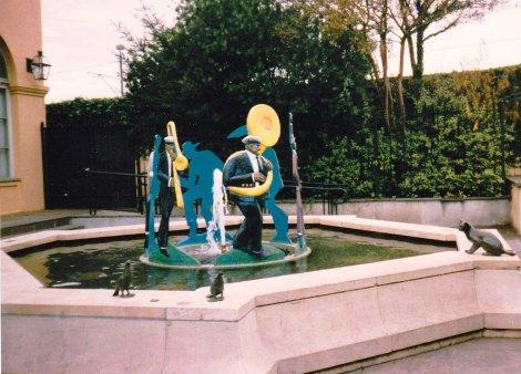 Jazz Band Fountain
