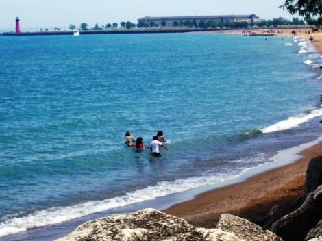 Kenosha public beach