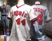 Reggie Jackson's Angels jerseys