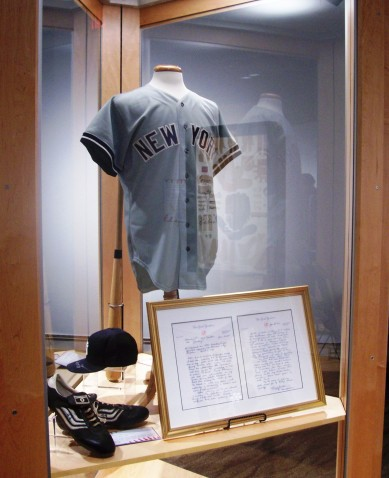 New York Yankee memorabilia