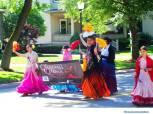 Ensemble Espanol dancers in parade