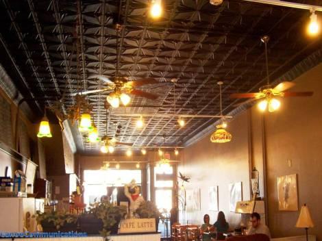 a coffeehouse
