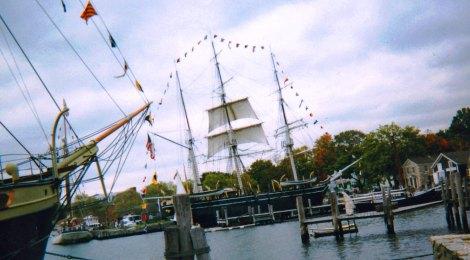 schooner, Mystic Seaport, Mystic, Conneticut