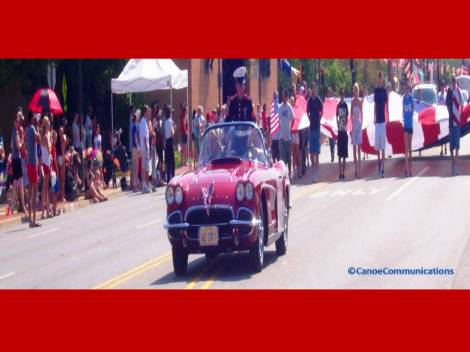 parade marshall and honoree