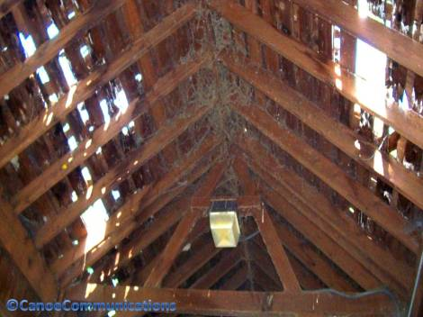 covered bridge roof