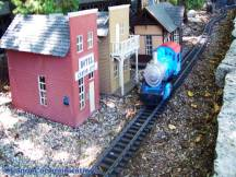 town and train set