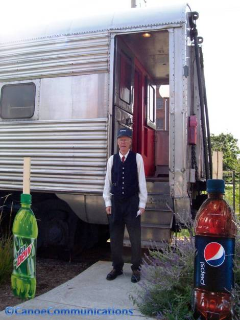 conductor and dining car