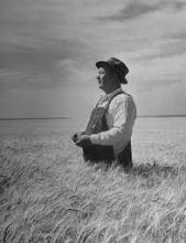farmer, photographer Ed Clark