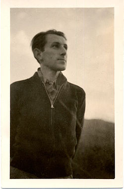 Julius Schulman self-portrait