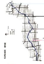 Kankakee River Map
