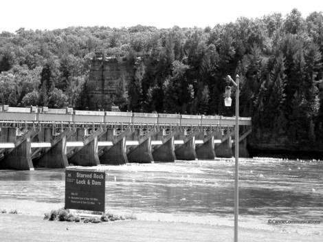 Starved Rock Dam