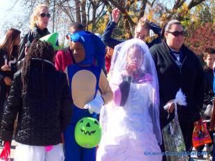 princess, bride and blue dog