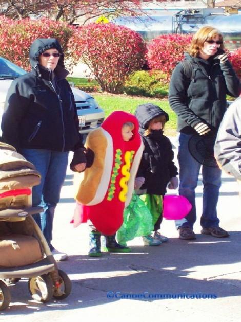 a little hot dog
