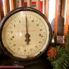 railway express clock