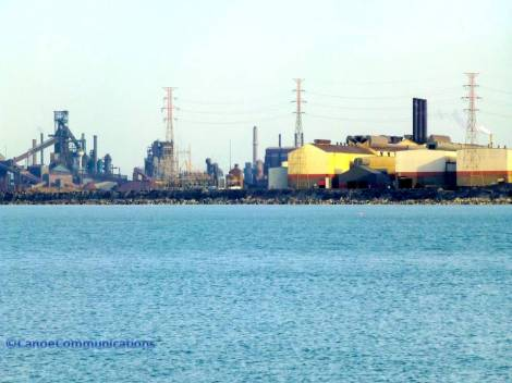 Indiana manufacturing and refinery plant
