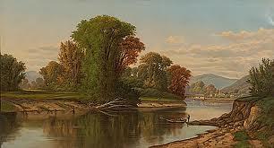 Ohio Landscape by Robert Seldon Duncanson