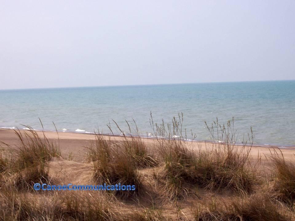 Indiana beach at Lake Michigan