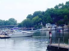 Wisconsin boat marina