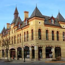 Riverside shops