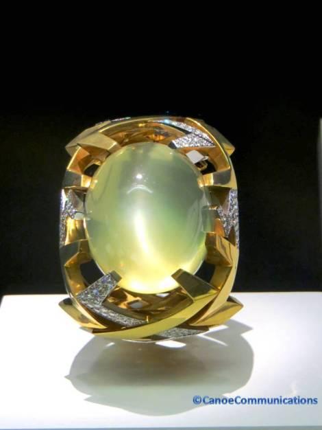 diamond and moonstone ring