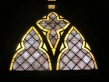 Patterned Stained Glass Window