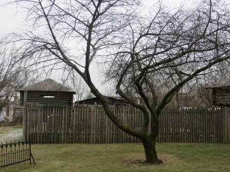 split log fort