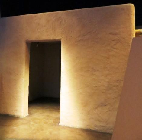 southwestern adobe doorway