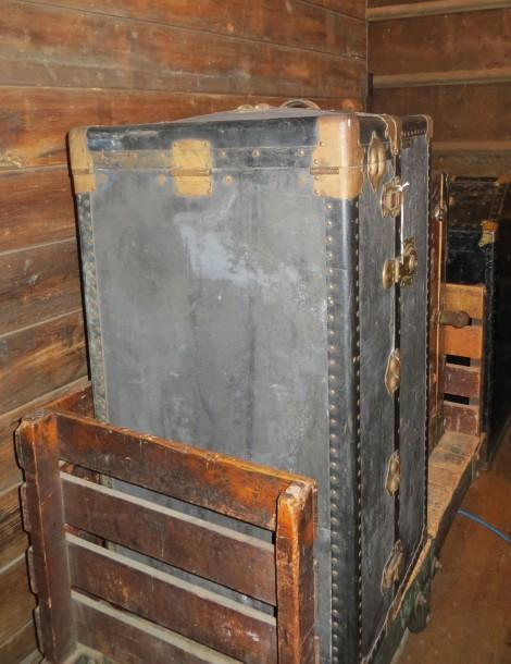 vintage travel trunks