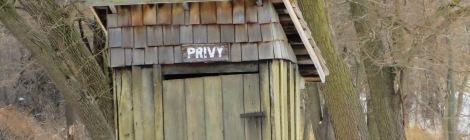 wood privy
