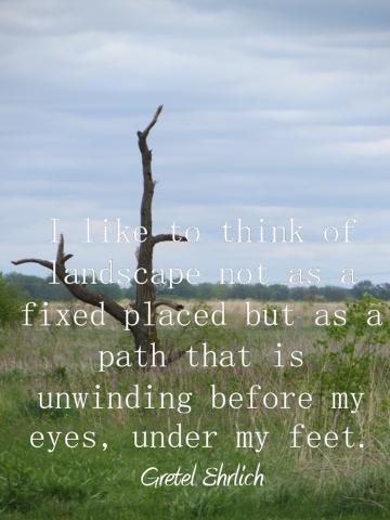 prairie landscape quote