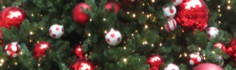 Xmas tree and ornaments