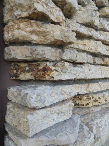 limestone stack