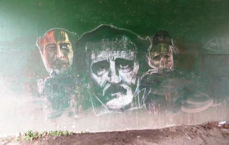 Edgar Allan Poe and company